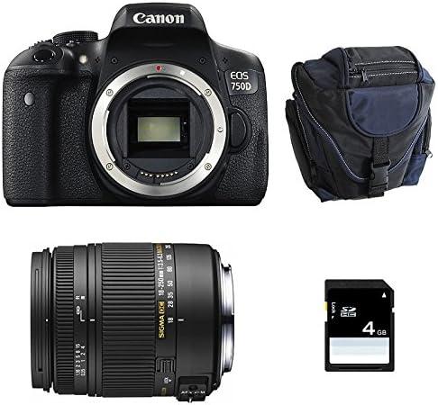 Canon Eos 750d Sigma 18 250 F3 5 6 3 Dc Macro Os Camera Photo