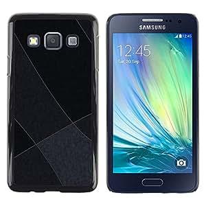 LECELL -- Funda protectora / Cubierta / Piel For Samsung Galaxy A3 SM-A300 -- Gray Tones --