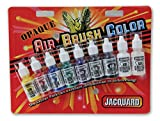 amazon airbrush - Jacquard Products JAC9935 Opaque Airbrush Exciter Pack .5oz 9/Pkg