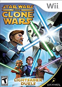 Star Wars the Clone Wars: Lightsaber Duels - Nintendo Wii