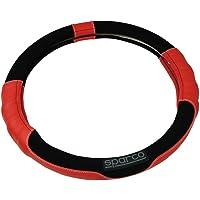 Sparco SPC1108RS Funda de Volante Universal Color Rojo