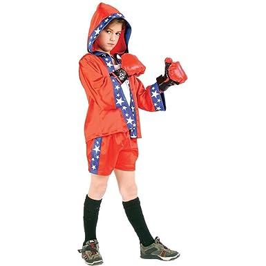 Amazon.com: Niño Boxer – Disfraz para Halloween (Tamaño 8 ...