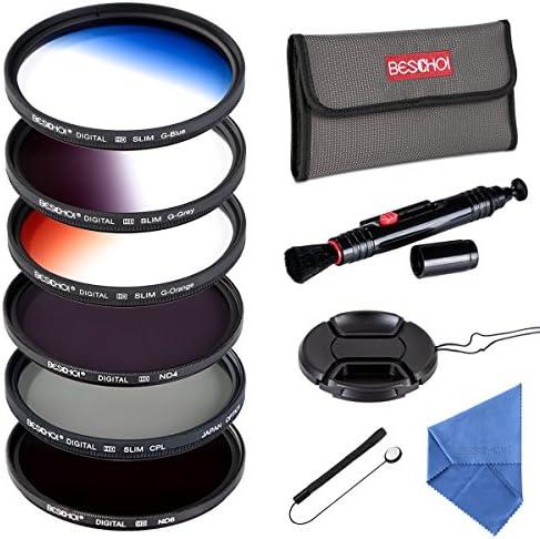 for Pentax DA 18-55mm f//3.5-5.6 AL WR CPL 52mm Circular Polarizer Multicoated Glass Filter Microfiber Cleaning Cloth