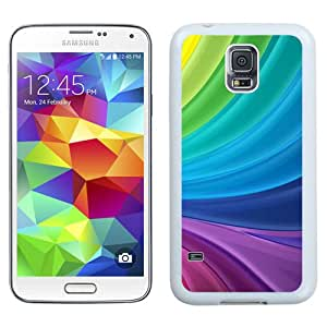 NEW Fashion Custom Designed Cover Case For Samsung Galaxy S5 I9600 G900a G900v G900p G900t G900w Colors Curl White Phone Case