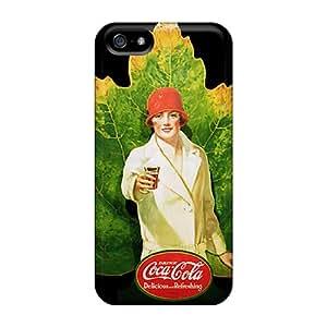New Hard Cases Premium Iphone 5/5s Skin Cases Covers(coca)