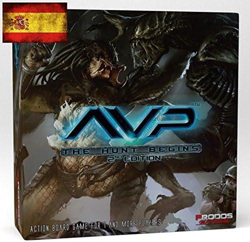 Alien vs. Predator AVP Comienza la Caza 2ª Edición (Castellano): Amazon.es: Juguetes y juegos