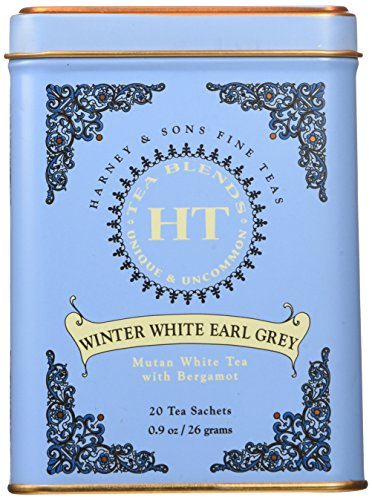 - Harney Sons Winter White Earl Grey Tea 20 Tea Sachets 0 9 oz 26 g