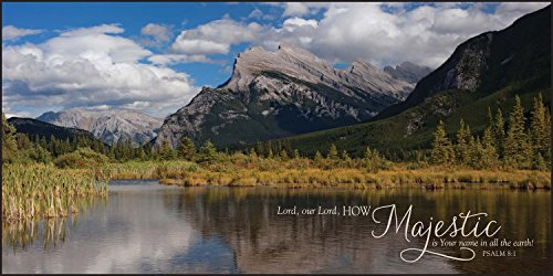 lord-how-majestic-is-your-name-mountain-lake-18-x-36-wood-wall-art-sign-plaque
