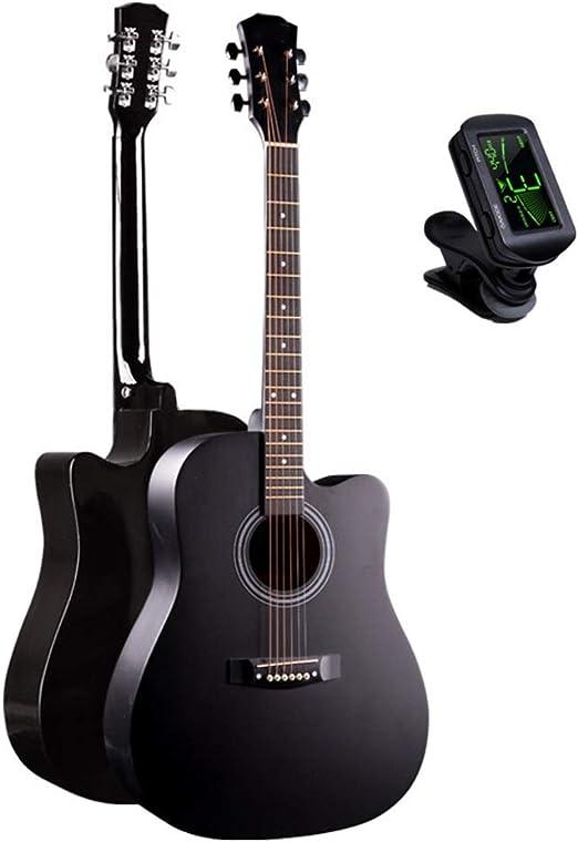 BAIYING-Guitarra Acústica 41 Pulgadas Principiante Instrumento ...
