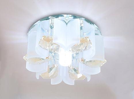 Plafoniere Da Corridoio : Momo lampada da soffitto a led in cristallo k moderna mini