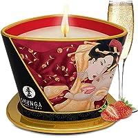 Shunga Vela de Masaje Romance, Aroma de Vino