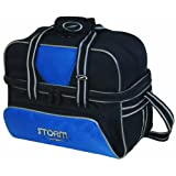 Storm Deluxe Tote Bowling Bag, 2-Ball, Blue