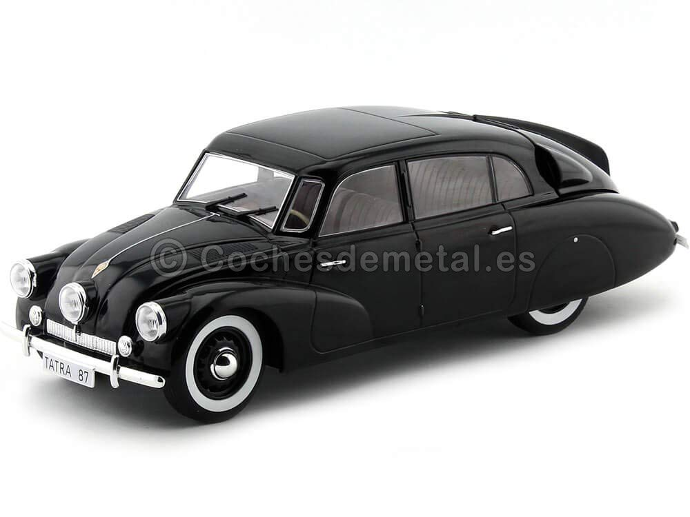 1937 Tatra 87 Negro 1:18 MC Group 18069 Cochesdemetal.es