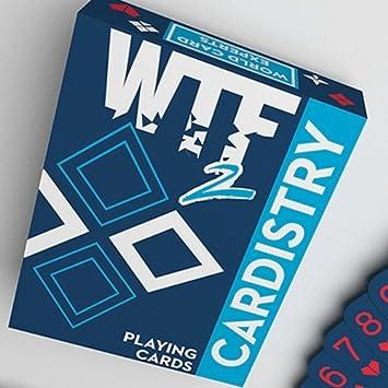 WTF Cardistry 2 Spelling Deck - Cartas de Handlordz: Amazon ...