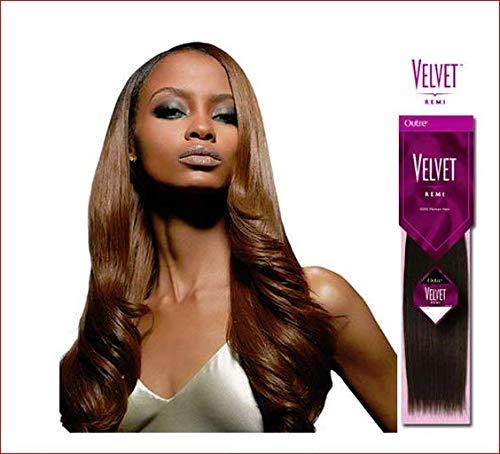 (Outre Velvet Remi 100% Human Hair - Yaki Weaving 18