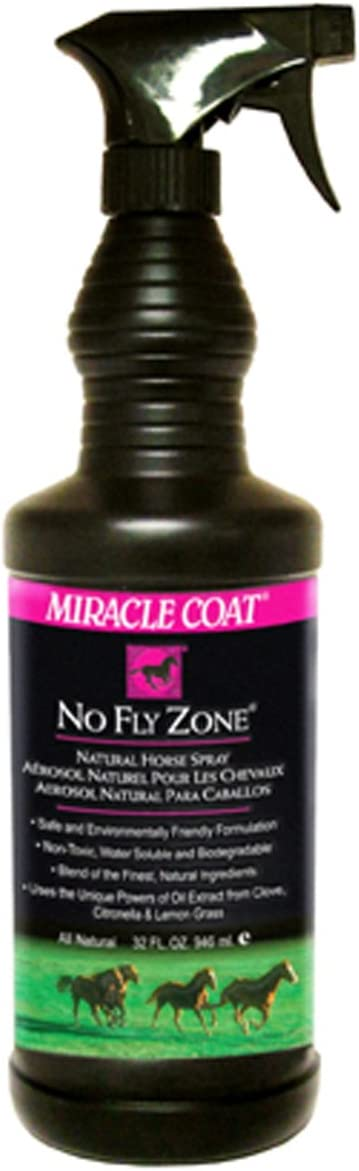 Miracle Coat No Fly Zone for Horses, 32 oz.