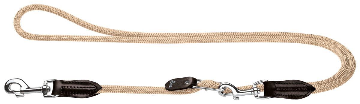 Hunter Vario Freestyle Hundeführleine, Tau Hunter Vario-Leine Freestyle beige 1 0/260 cm