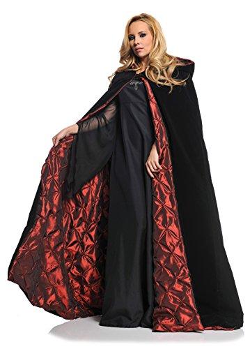 Women's Full Length Hooded Cape - Deluxe