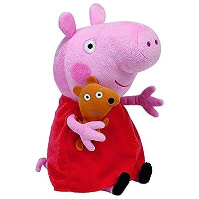 Ty Beanie Babie Peppa Pig - Medium: Toys & Games