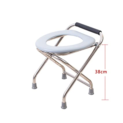 Groovy Amazon Com Folding Toilet Stool Seat With Commode Elderly Pabps2019 Chair Design Images Pabps2019Com