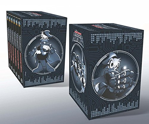 Lustiges Taschenbuch Ultimate Phantomias Box Band 1 - 6 mit Figur: Die Chronik eines Superhelden