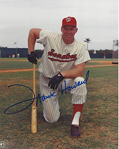 Frank Howard Signed Photo - 1B OF- (ROY & 4 TIME ALL STAR 8x10 Color - Autographed MLB Photos