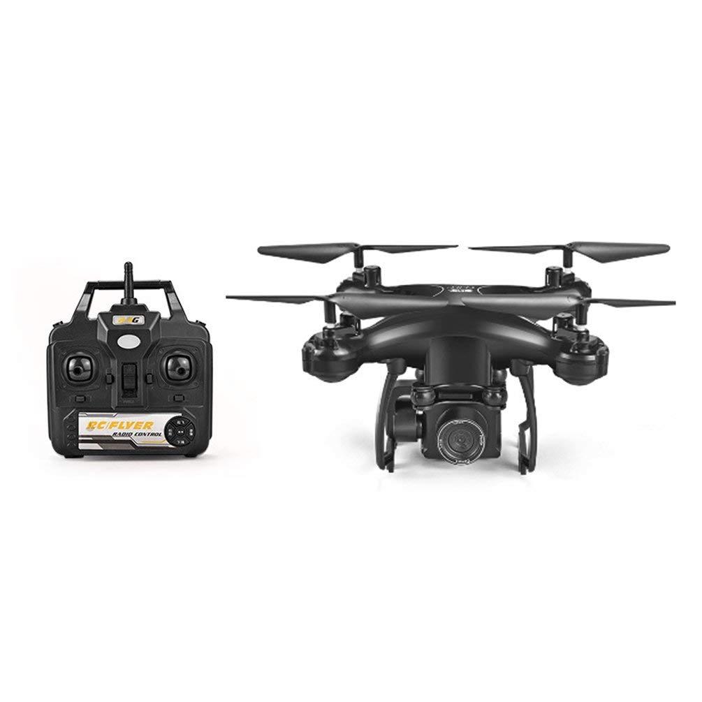 Oyamihin S29-1 Elektrisch gesteuerte Kamera UAV Aerial Vierachsen-Flugzeugfernsteuerungsflugzeug-Spielzeug - Schwarz