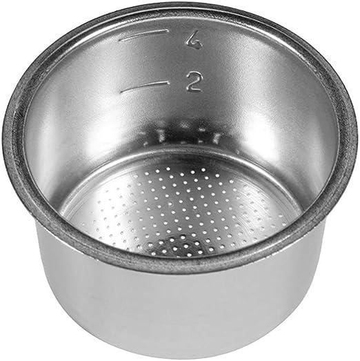 UPKOCH filtro de café cesta de filtro de acero inoxidable no ...