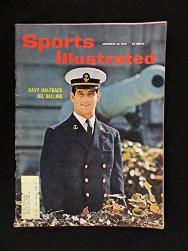 (Sports Illustrated - November 28, 1960 - Navy halfback Joe Bellino on cover)