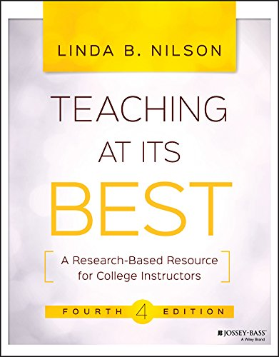 - Teaching at Its Best: A Research-Based Resource for College Instructors