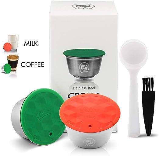 i Cafilas - Cápsula de café Dolce Gusto reutilizable, con 1 dosis ...