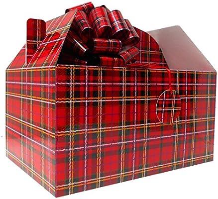 Gable caja regalo Hamper Kit (gigante) con lazos y tarjeta de ...