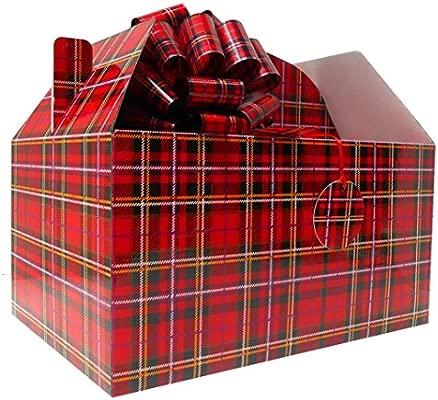 Gable caja regalo Hamper Kit (gigante) con lazos y tarjeta ...