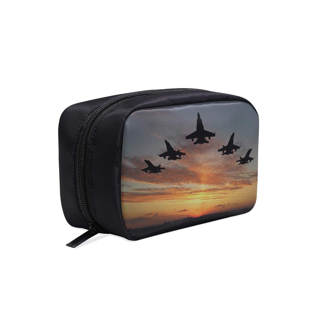 Aviones de combate Aviones de viaje Portátil de maquillaje Bolsas ...