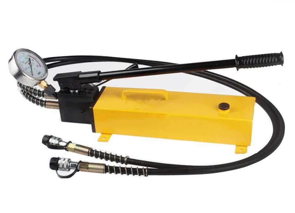 CGOLDENWALL  CP-700S デュアルサーキット手動油圧ポンプ 耐振型圧力計付 (CP-700S) B07542Q2M6