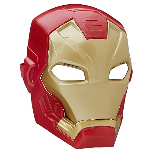 Marvel Captain America: Civil War Iron Man Tech FX Mask (Iron Man Hands)