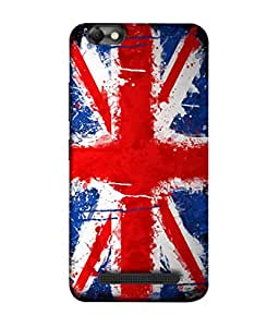 ColorKing Football England 10 Multicolor shell case cover for Lenovo Vibe C
