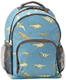 Hatley Little Boys' Dinosaurs Backpack, Blue, One Size
