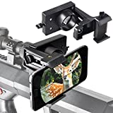 Smartphone Mount Adapter for Semi Auto Rifle Scopes and Action Bolt Rifle Scopes to Record Hunting in The Cellphone Screen