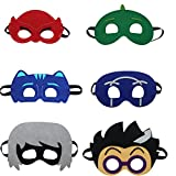 starkma Cartonn Hero Party Favors Dress Up Costume Set of 6 Mask