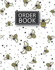 Order Book: Order Log Book for Small Businesses, Purchase Order Journal, Customer Order Tracker for Online Businesses, Bee Design