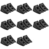 DEDC Heavy Duty Wheel Chocks for Caravan Car Wheel Stoppers (16pcs)