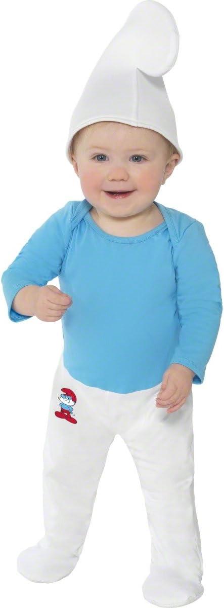 Smiffys Disfraz de pitufo para bebé: Amazon.es: Juguetes y juegos
