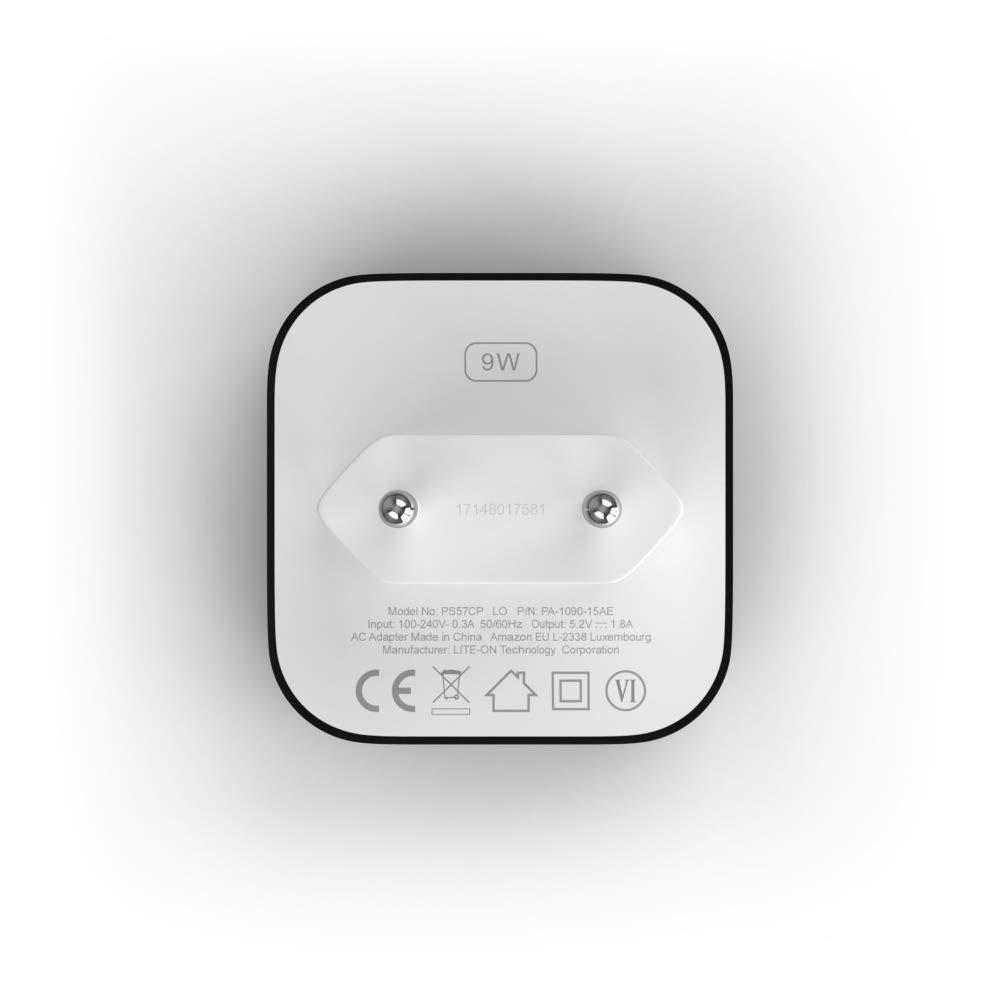 Cargador Amazon PowerFast para una carga más rápida, compatible ...
