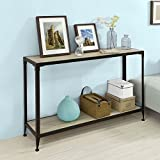 Console Sofa Table Hall Table, One Shelf Good Quality and Simple Design Metal Frame Four Legs to Protect The Floor from Scratches a Diverse and Contemporary Product