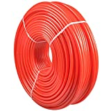 Pex Tubing , AceFox 1/2'' 1000ft O2 Oxygen Barrier Radiant Floor Heat Pex-B Red