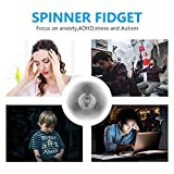 Hand Spinner, SAVFY Fidget Spinner Toy Stress Reducer - Hands Killing Time - Premium Bearing - EDC ADHD Focus Toy Perfect for Adult & Kids, Black
