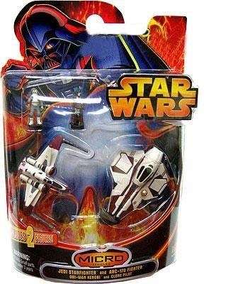 Star Wars Revenge of the Sith Micro Vehicles Set II ()