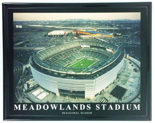 - New York Jets Football Meadowlands Stadium Metlife Inaugural Season Framed Print Wall Art