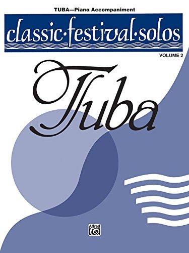 Vol 2 Tuba - Classic Festival Solos (Tuba), Vol 2: Piano Acc.